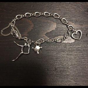 """James Avery Sterling Silver Charm bracelet 6"""""""